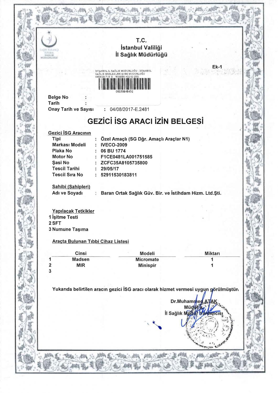gezici-isg-araci-izin-belgesi